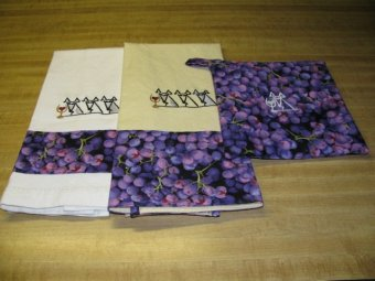 Grapehound Tea Towels